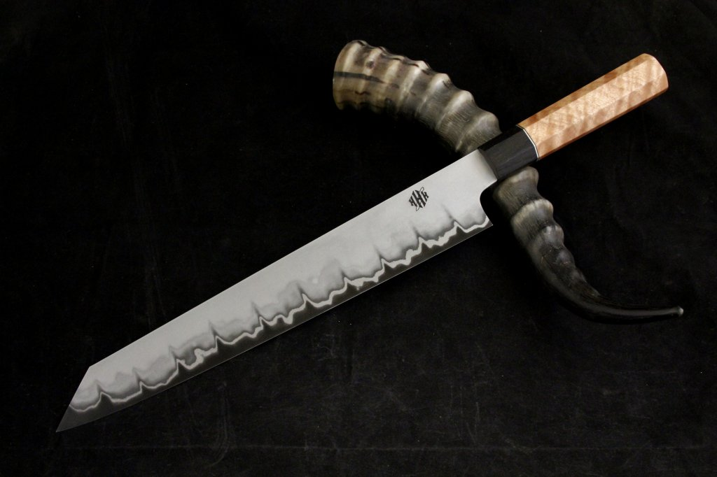 F S San Mai 300mm K Tip Chef Knife F S The Kitchen Knife Fora