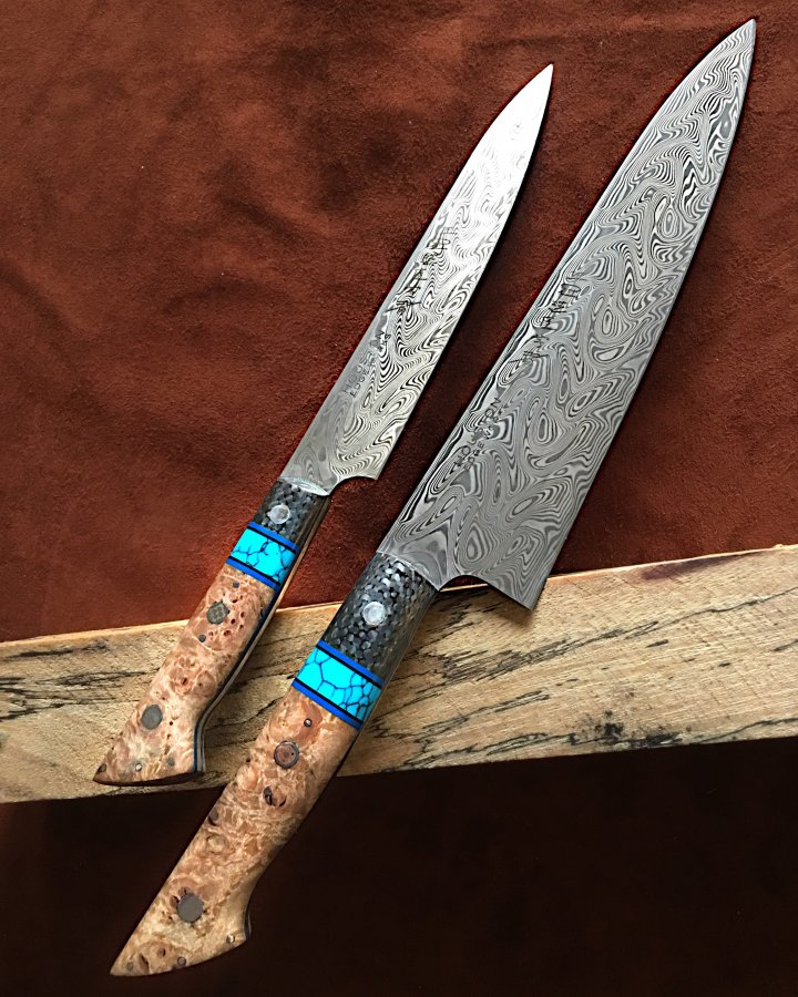 210mm And 175mm Damasteel Set The Kitchen Knife Fora