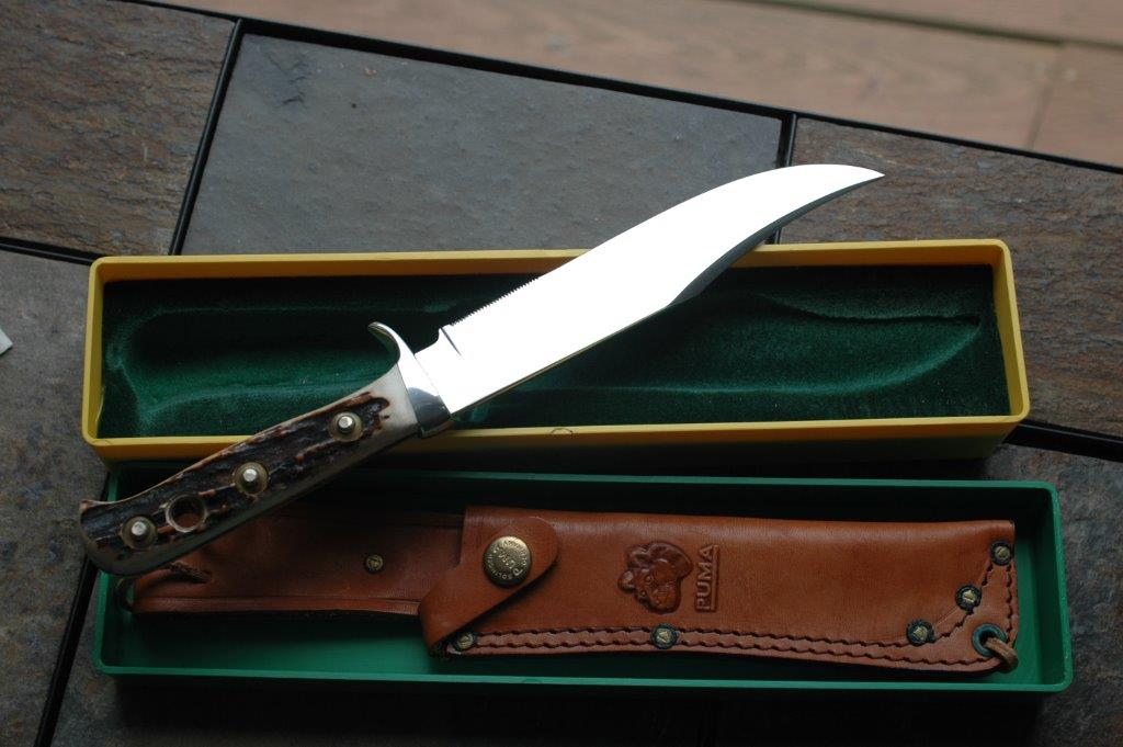 Puma Werks Original Bowie Knife 6396 New Old Stock The